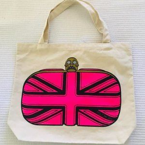 My Other Bag Hand Painted Canvas Shopping Tote